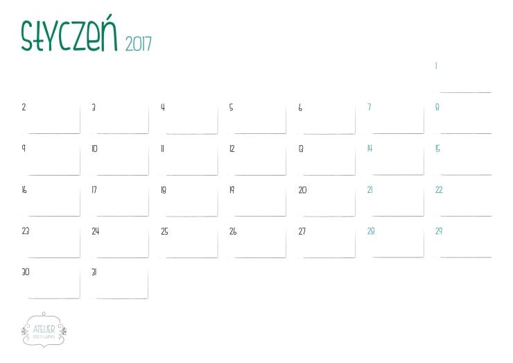 kalendarz-styczen-2017-minimalistyczny