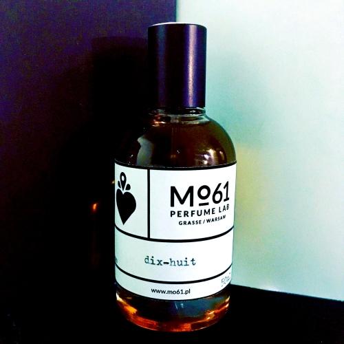 butelka perfum Mo.61 - dix-huit