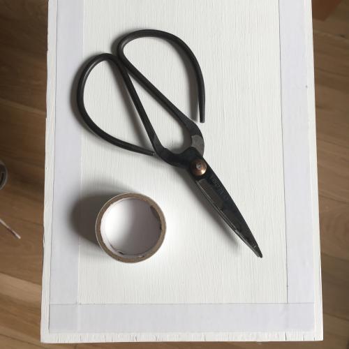 nożyczki i taśma